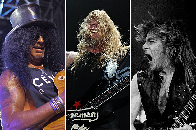 Slash Jeff Hanneman Randy Rhoads