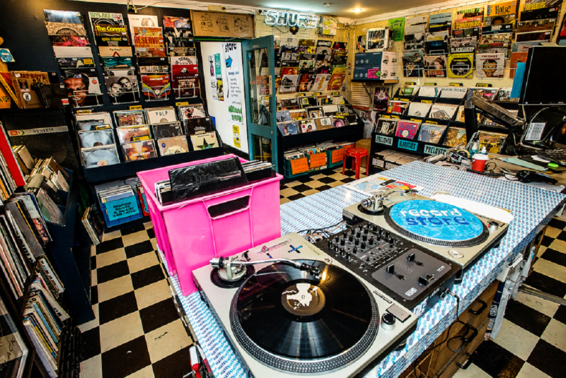 The Record Store 800x535