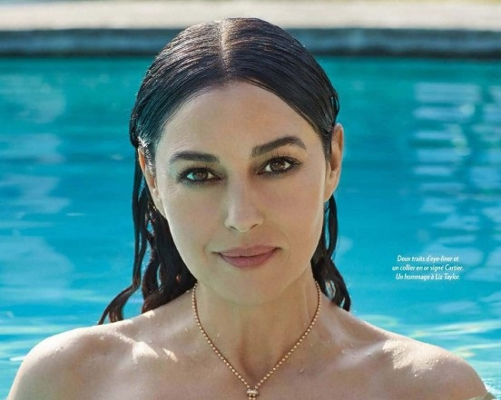 8587 Monica Bellucci Paris Match 2016 1