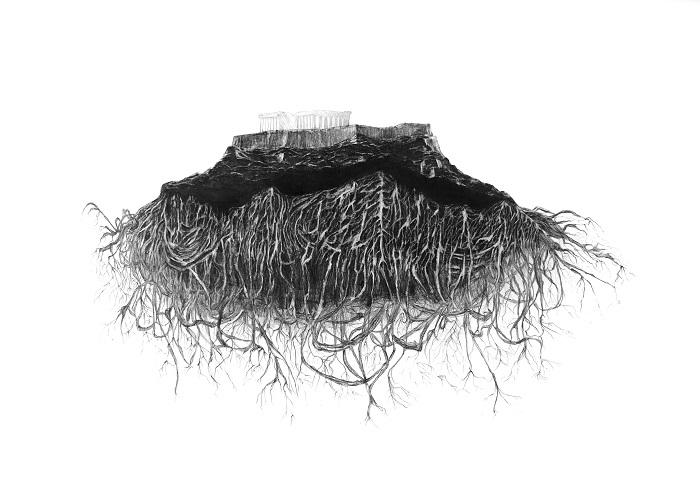 A dense secret network of roots Datagarden 2020 Kyriaki Goni