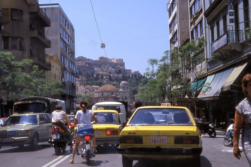 Athens Athinas Str. 1987 by Marc Noordink