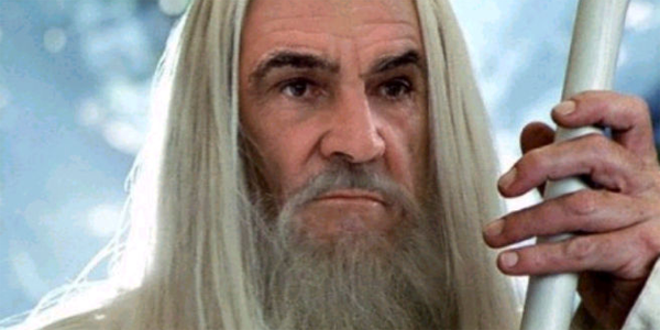sean connery as gandalf