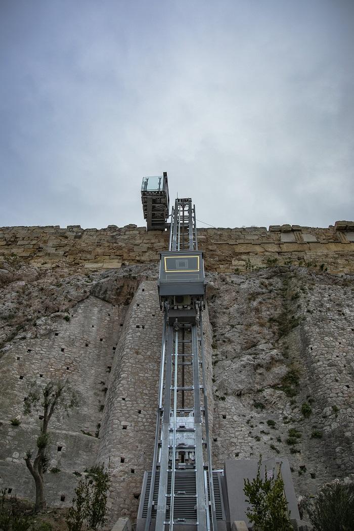 Acropolis elevator disabled walkways 17 Andreas Simopoulos