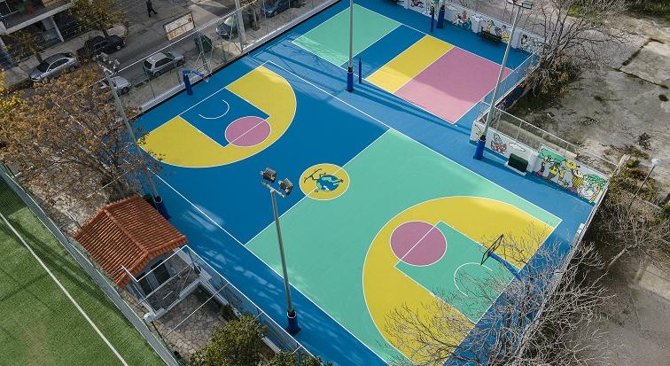 photos Dimitris Michalakis Cheldraich Street Basket Volley 2
