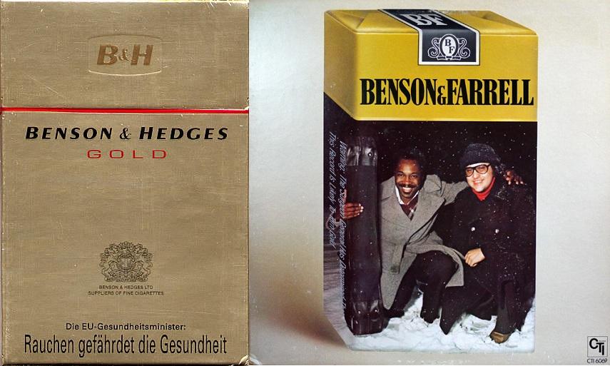 1.BENSON HEDGES GOLD