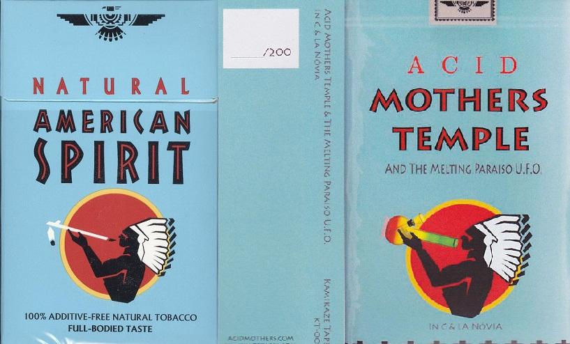 1.NATURAL AMERICAN SPIRIT