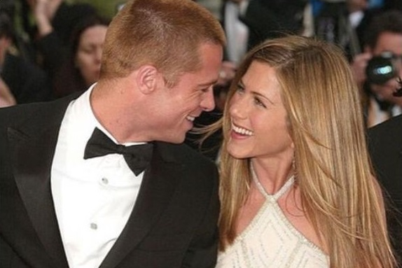 87635 Brad Pitt Jennifer Aniston