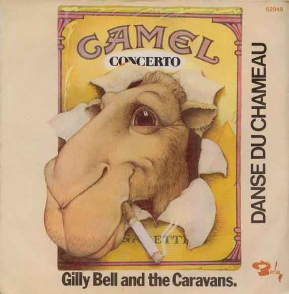 CITY BELL THE CARAVANS Camel Concerto Single 1974