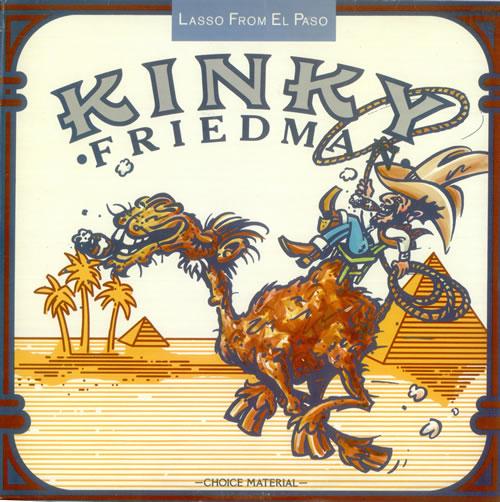 KINKY FRIEDMAN Lasso from El Paso 1976