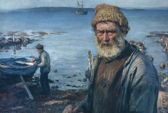 old fisherman hans heyerdahl