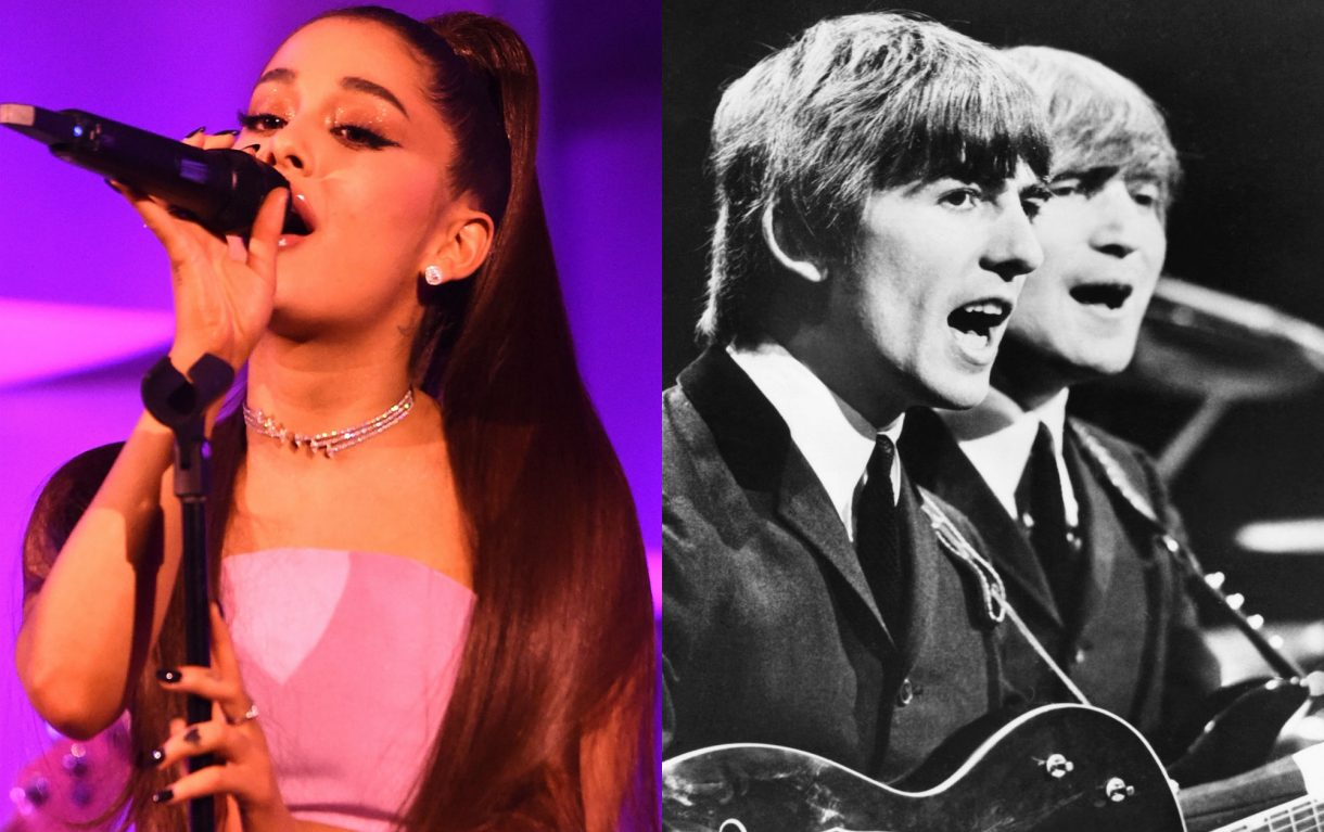 Ariana and The Beatles 1 1220x767