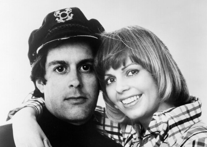 Daryl Dragon and Toni Tennille were known as the Captain and Tennille