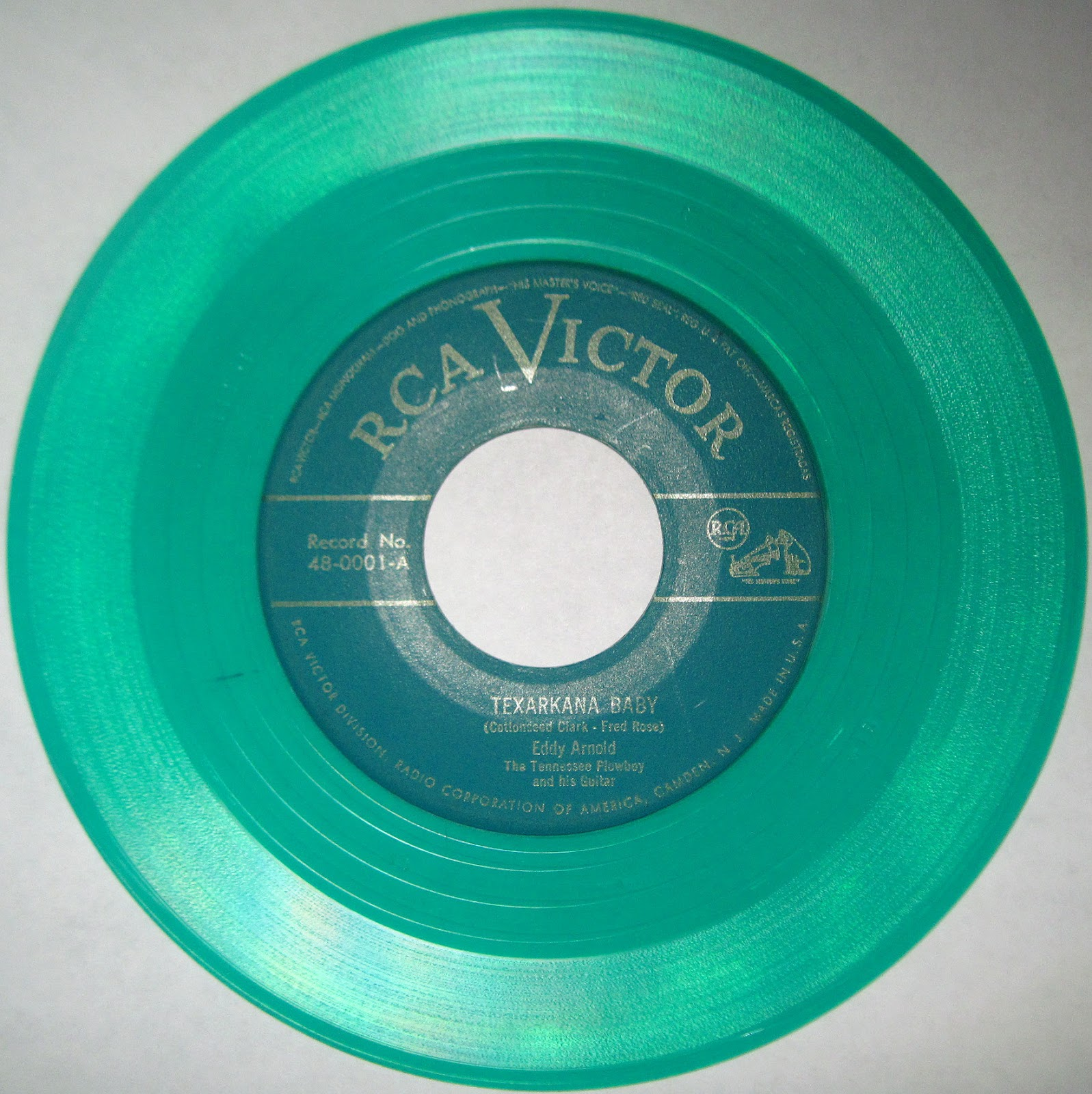Eddy Arnold Texarkana Baby Single