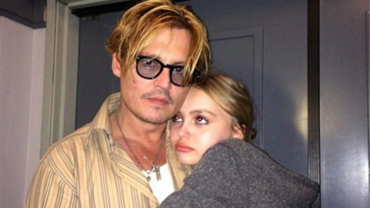 Johnny Depp and his daughter Lily Rose Depp Instagram