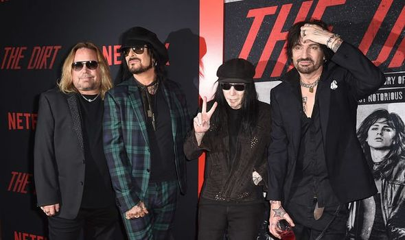 Motley Crue The Dirt on Netflix Will the band release new music and tour again 1104106