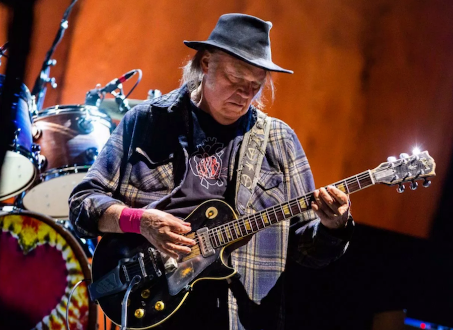 Neil Young photo by Debi Del Grande