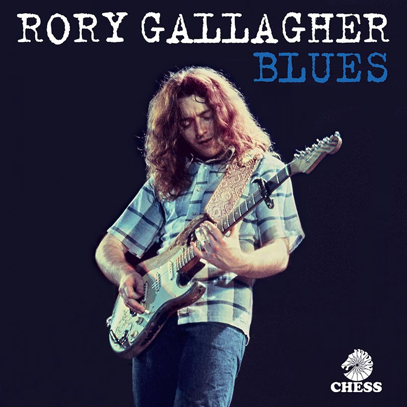 Rory Gallagher The Blues album cover web optimised 820