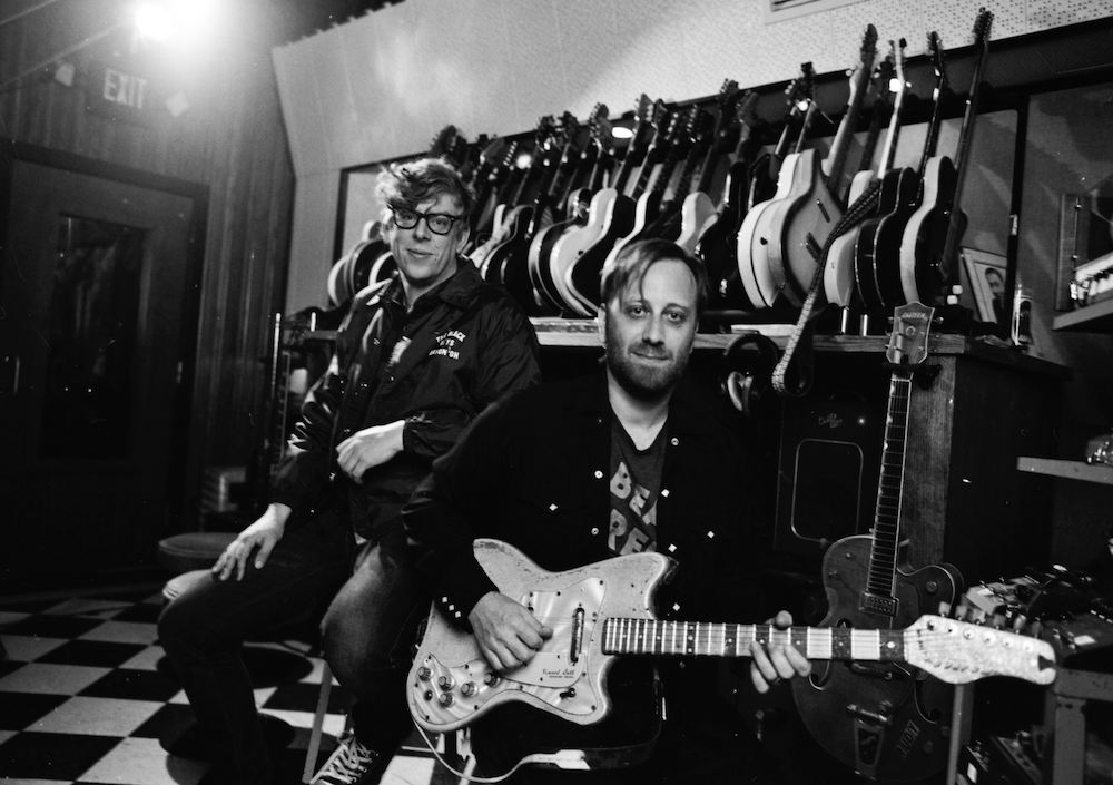 The Black Keys Alysse Gafkjen Lets Rock Eagle Birds new album announcement stream