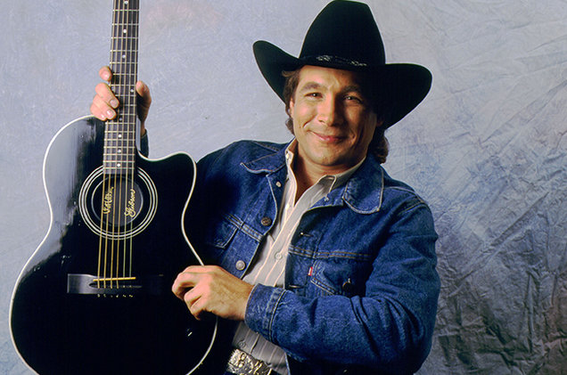 Clint Black 1990 billboard 650