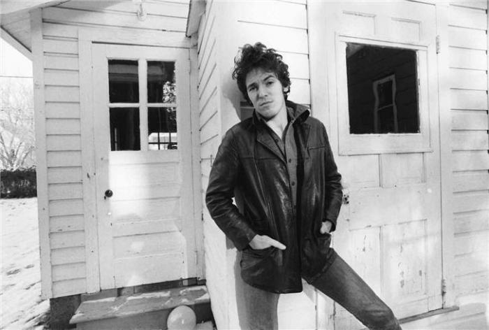 Promised Land Bruce Springsteen Darkness At The Edge Of Town 1978 Back porch leather Rock Train