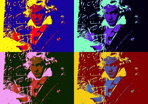 andy warhol beethoven beethoven 390 PopArt 11