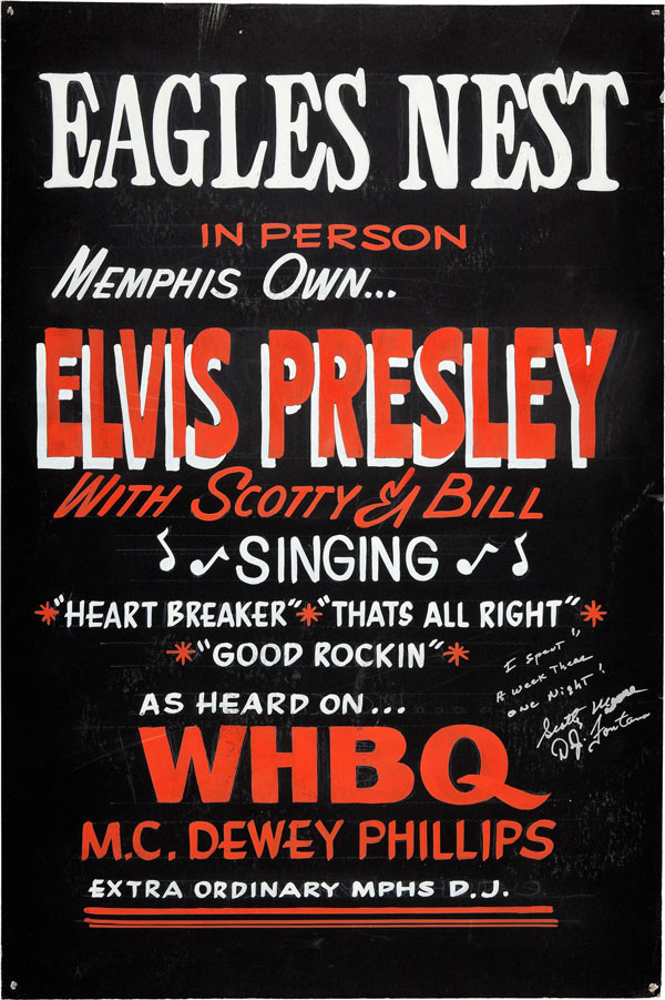 Elvis Presley 1954 Eagles Nest