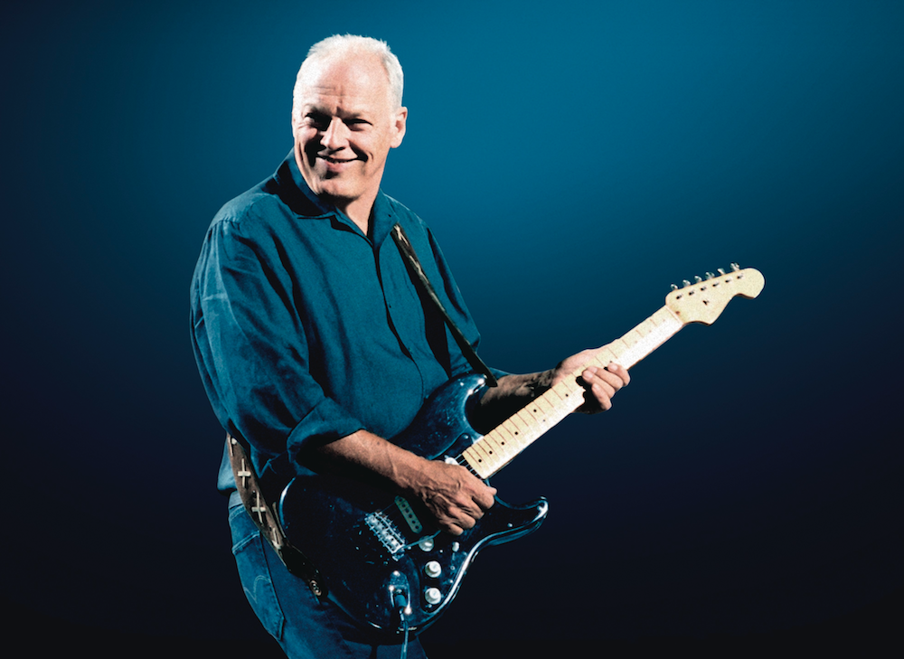 david gilmour auctions guitars charity