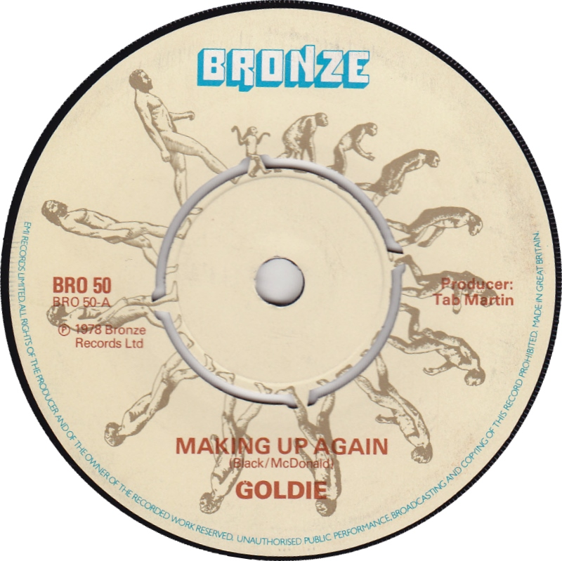 goldie 70s making up again 1978 3