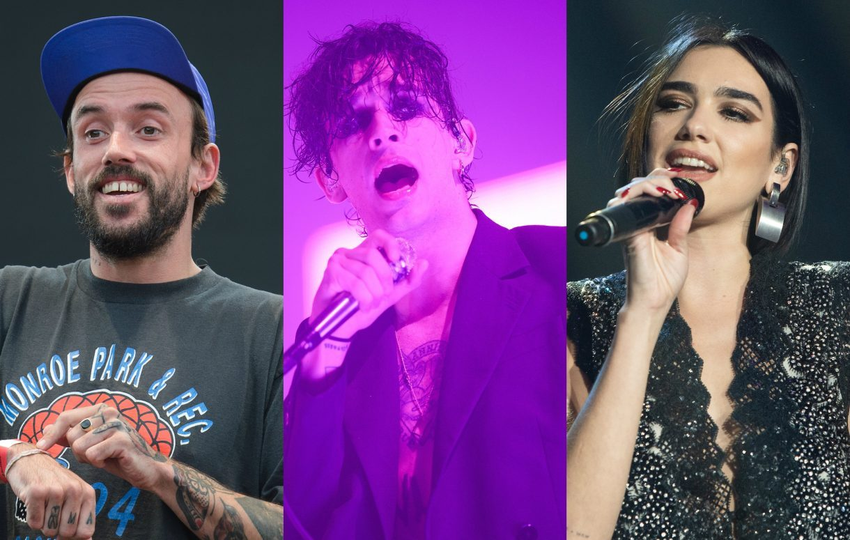 idles the 1975 dua lipa 1220x775 1220x775