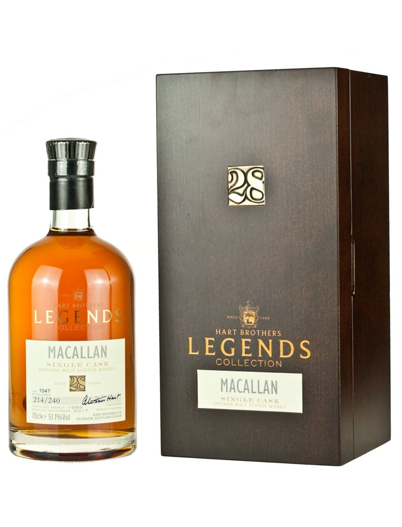 macallan 28 year old 1989 legends collection