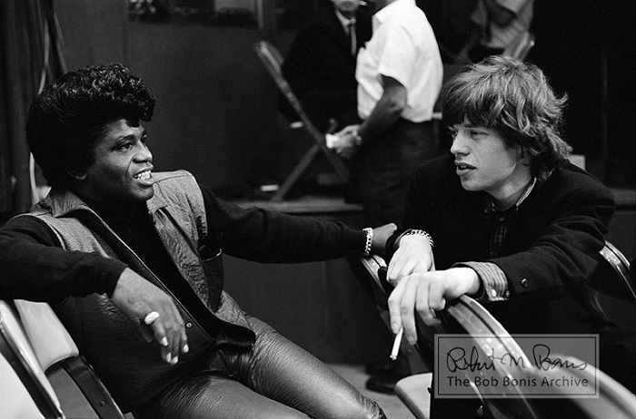 mick jagger and james brown T.A.M.I. show