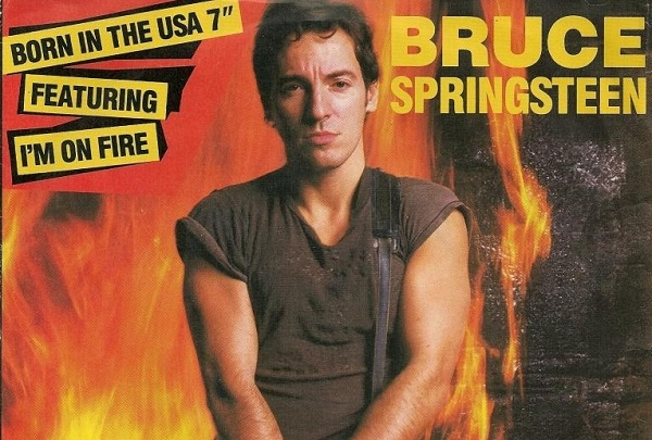 Bruce Springsteen Im on Fire