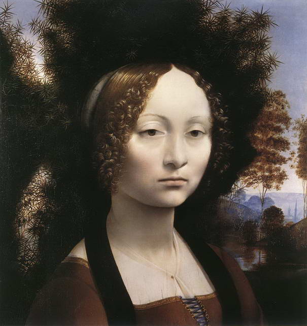 Portrait of Ginevra de Benci