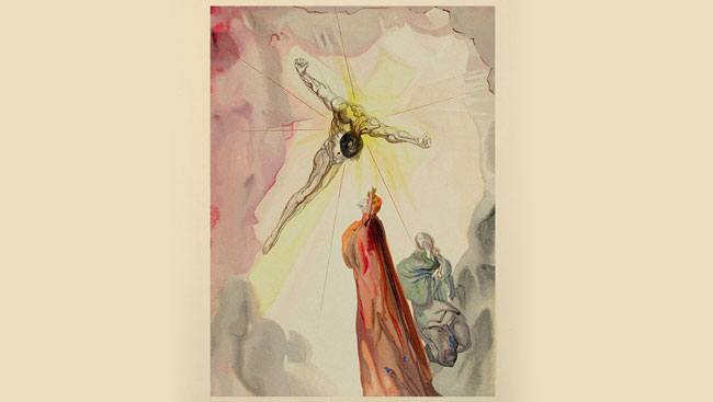 salvador dali illustrations of dante alighieris divine comedy02
