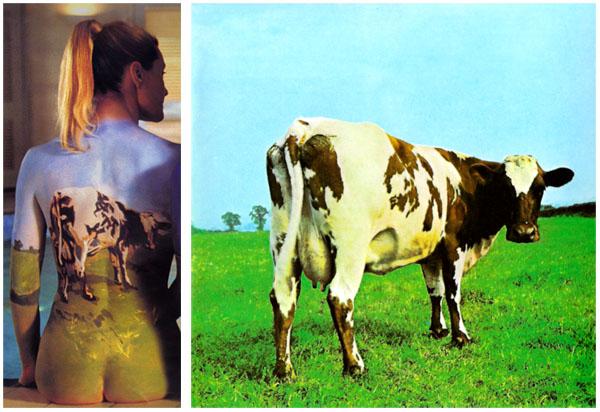 Pink Floyd back catalogue poster model atom heart mother