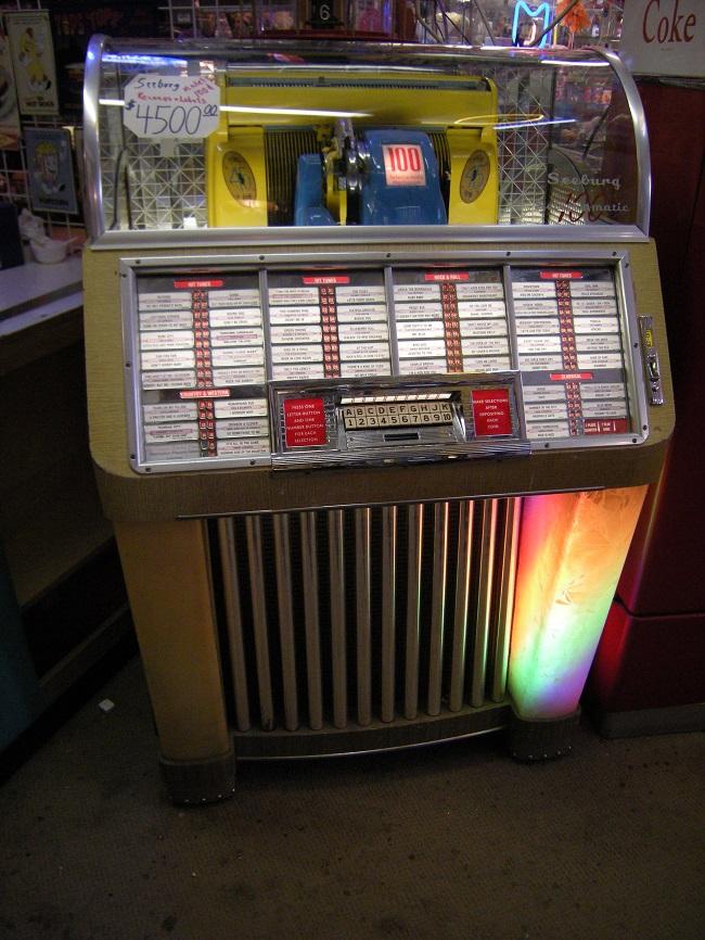 Seeburg Model 1004 juke box
