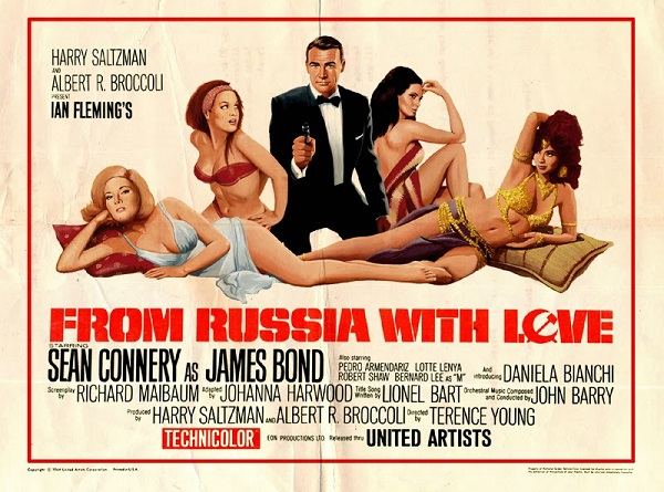 from russia with love art tribute poster 007