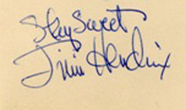 jimi hendrix stay sweet autograph inscription