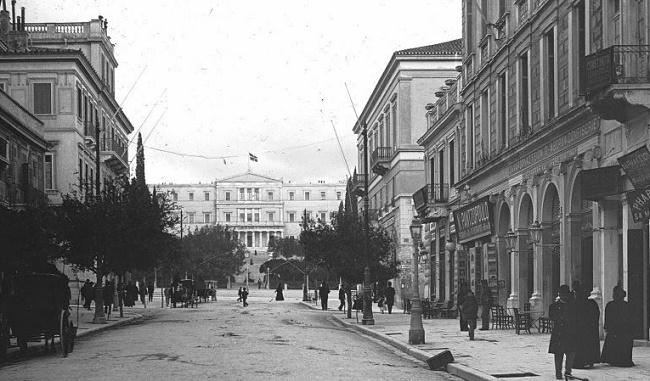 Athens Ermou Str to Syntagma