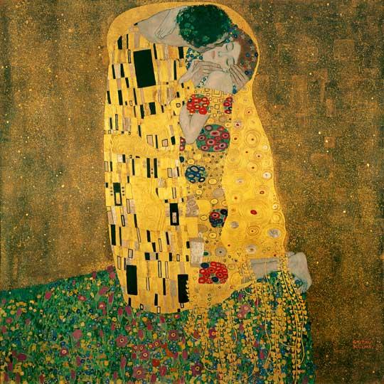The-Kiss-1908-09-Gustav-Klimt