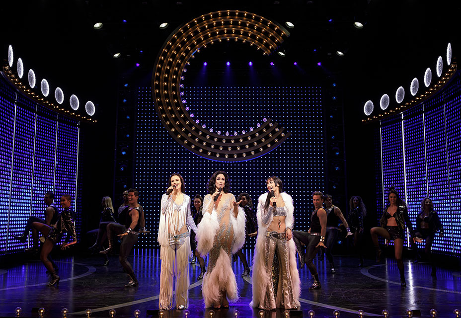 teal wicks as lady stephanie j. block as lady micaela diamond as babe and the cast of the cher show on broadway photo by joan marcus 1445r embed 2018